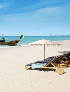 Ah, lämpöä ihanat +30°C ja ranta melkein omassa käytössä. #Thailand  http://www.finnmatkat.fi/Lomakohde/Thaimaa/?season=talvi-13-14