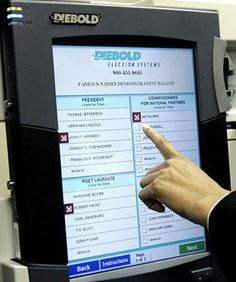 Attention henchmen! Voting machines and other flawed conspiracies