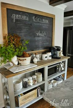 Rustic console table by Ana White