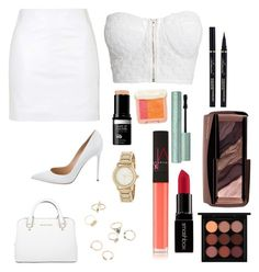 """""""Untitled #256"""" by orep57 ❤ liked on Polyvore featuring Topshop, NLY Trend, Gianvito Rossi, Michael Kors, DKNY, NARS Cosmetics, Paul & Joe Beaute, Smashbox, MAC Cosmetics and Hourglass Cosmetics"""