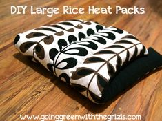 Anyone else suffer from annoying back and neck pain? If you've been looking for something to help ease the pain away, try making one of these reusable rice heating pack. That is, after you check out my 10 tips for relieving back & neck pain.  These are so great because you just pop them in...Read More