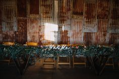 Greenery of the bridal table at Willow Farm Berry Willows Farm, Wooden Folding Chairs, Bridal Table, Greenery, Berry, Curtains, Furniture, Home Decor, Blinds