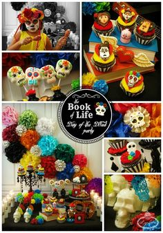 Day of the Dead Party Ideas via Lynlee's >> #WorldMarket Book of Life Shop, #DiadelosMuertos
