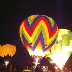 Balloon Glow, Albuquerque Balloon Fiesta