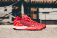 buy popular 0fe10 2f3bf adidas Crazylight Boost Low 2016  Solar Red