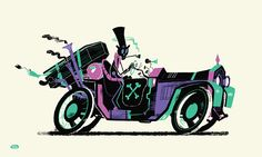 Start Yr Shonky Engines on Behance