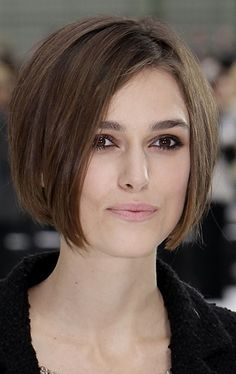 Keira Knightley-Short Bob                                                                                                                                                     More