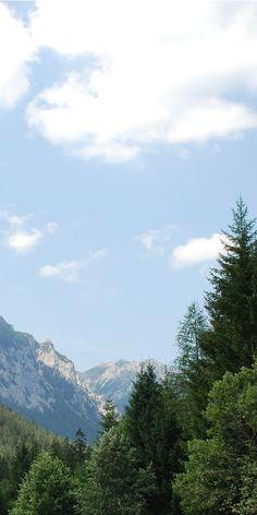 Berge und Blick in den blauen Himmel Mountains, Wallpaper, Nature, Travel, Heavens, Wallpaper Desktop, Naturaleza, Wallpapers, Viajes