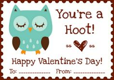 My Owl Barn: Free Valentine's Day Printables