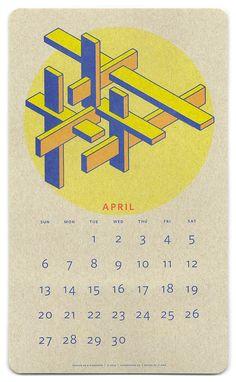 risograph-calendar JP King