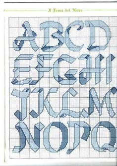 Auguri alphabet A-Q