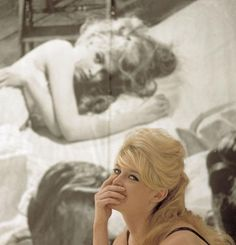 Brigitte Bardot, 1958. Photo by Nicolas Tikhomiroff