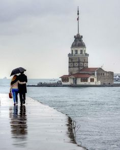 Istanbul is a little rainy but awesome weather – Merve – Join the world of pin Istanbul City, Istanbul Travel, All Animals Photos, Wonderful Places, Beautiful Places, Buch Design, Arabian Beauty, Hagia Sophia, Destination Voyage