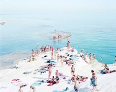 Massimo Vitali signature beach series works