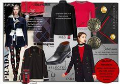 MILITARY PRECISION : Fashions continuing love affair with uniform dressing steers a new course for Autumn 2016. SHOP THE LOOK at http://www.morwennauk.net/military-precision #MiuMiu #Burberry #Gigi #Zara #ZadigetVoltaire #Topshop #BellaHadid #Marks&Spencer #JohnLewis #Prada #Burlington #Falke #BellaFreud #FredPerry #Zalando #TommyXGigi #ASOS