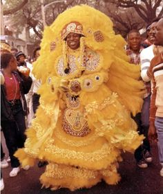 Bo Dollis, Big Chief. Mardi Gras Indians, New Orleans.
