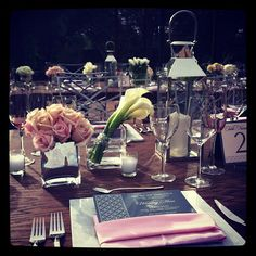 Modern Charcoal Menu and Table Number the Event Essentials