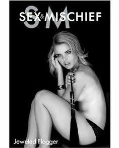 Sex & Mischief Jeweled flogger www.romanticsecrets.ca
