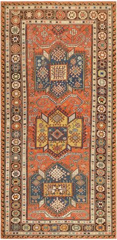 Antique Caucasian Soumak Rug 47147 Main Image - By Nazmiyal - not for me, but definitely beautiful
