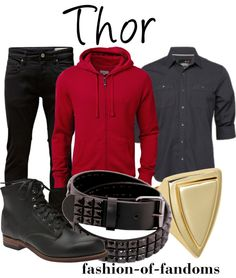 Fandom Fashion: Thor - I know this is technically a guys outfit, but it could be changed for a girl easily enough