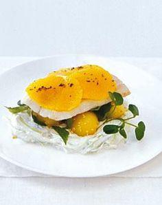 Rezept:+Wasabiquark+mit+Gurke,+Sesamkartoffeln+und+gebackenem+Zander+|+LIVING+AT+HOME