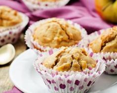 Muffins complets ultra diététiques aux pommes à la cannelle spécial petit déj détox