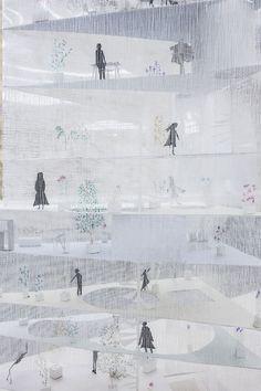 Junya Ishigami: petit? grand? l'espace infini de l'architecture