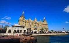 Haydarpasa Terminal, Istanbul    Eastern Europe's busiest station, Haydarpasa Terminal occupies an atmospheric waterside location. It opened in 1872.