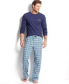Calvin Klein Men's Sleepwear, Calvin Klein T-Shirt and Calvin Klein Pants