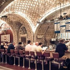 Grand Central Oyster Bar and Restaurant -- The New Victorian Ruralist