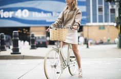 The perfect pedal-friendly outfit has been found–and you can shop the look on Style.com now.
