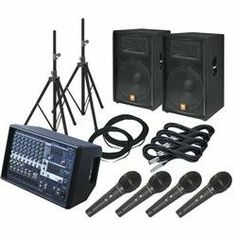 """Yamaha EMX512SC / JBL JRX115 PA Package with AT M4000S Mics (Standard) by Yamaha. $1299.99. A great PA package that serves the needs of musicians with demanding ears and impoverished budgets. Combining selected components that integrate seamlessly and represent excellent bang for the buck, this package consists of a Yamaha EMX512SC 8-channel 500W powered mixer, a pair of JBL JRX115 15"""" 2-way speaker cabinets, 4 Audio-Technica M4000S dynamic mics, 2 Livewire 25ft 16GA speaker ..."""