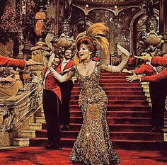 "Barbra Streisand en ""Hello Dolly"", 1969"