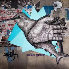La Pandilla: Street Art en tinta china - Cultura Colectiva - Cultura Colectiva