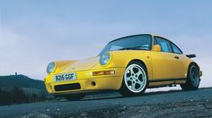 1987 Ruf CTR-001 Yellowbird 470-hp turbo 911 built days before by a little-known German tuner named Alois.