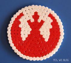 Star Wars - Rebel Alliance /  Perler Beads - Hama perlen - Bügelperlen