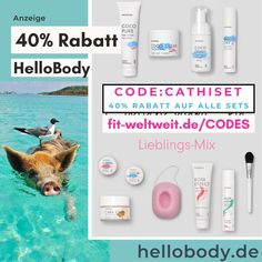 40% Rabatt Hello Body Gutschein Code 2021 April Mai Juni Natural Mojo, Hello Body, After Sun, Influencer, Lotion, Coding, Juni, Pure Products, Instagram
