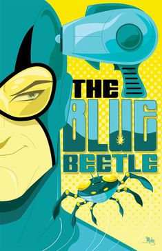 Blue Beetle by Mike Mahle