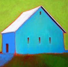 "Daily Paintworks - ""Meadow Barn"" - Original Fine Art for Sale - © Almira Hill Grammer Landscape Art, Landscape Paintings, Barn Art, Paintings I Love, House Paintings, Art Abstrait, Fine Art Gallery, Painting Inspiration, Oeuvre D'art"