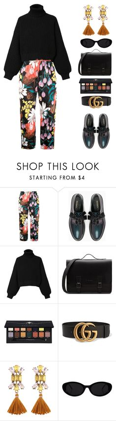 """""""it ain't me"""" by florenciafashionstreethunter ❤ liked on Polyvore featuring Marni, Max&Co., Diesel, Anastasia Beverly Hills, Gucci and topset"""