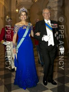 The Queen and The Prince Consort the hosted a state dinner at Christiansborg Palace on March 17, 2015 in honour of The King and The Queen of The Netherlands.