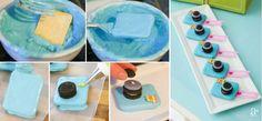 Instagram insta cookies tutorial.... No bake! Instagram inspired party.