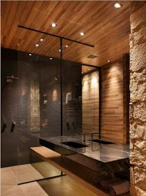 Super Creative Man Cave Bathroom 2018 - Marie Kirton- - Super Creative Man Cave Bathroom 2018 If you are confused with the bathroom design in your men cave and thinking about what will you do, you can adopt some references here. Designing man c. Bathroom Design Luxury, Bath Design, Home Interior Design, Luxury Interior, Interior Decorating, Bad Inspiration, Bathroom Inspiration, Man Cave Bathroom, Small Bathroom