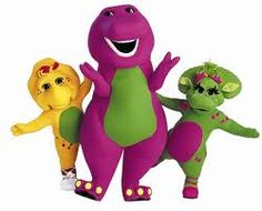 And, of course, Barney.