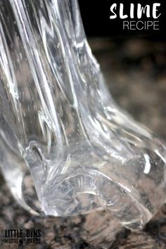 Elmer's Clear Glue Slime Recipe for Making Homemade Slime