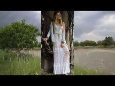 Бохо браслет - манжета и бохо - воротник от Olga Lace - YouTube