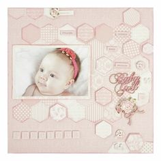 Pitter Patter couldn't be better for new baby announcement, scrapbook layouts, and more! Soft pastels and grays make up this collection, and you'll find yourself reaching for it over and over. Baby Girl Scrapbook, Kids Scrapbook, Scrapbook Page Layouts, Scrapbook Pages, Scrapbooking Ideas, New Baby Announcements, Sympathy Cards, Baby Cards, Baby Photos