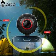 High quality 360 degree 4K camera for broadcast