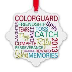 #Colorguard Holiday / Christmas Ornament > Color Guard Holidays