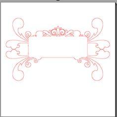 Fichier sst ** etiquette forme  ** pour silhouette cameo - scrapbooking carterie silhouette cameo tuto astuce scrap image tube numérique cre...